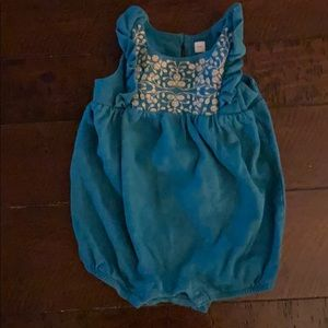 tea collection baby romper